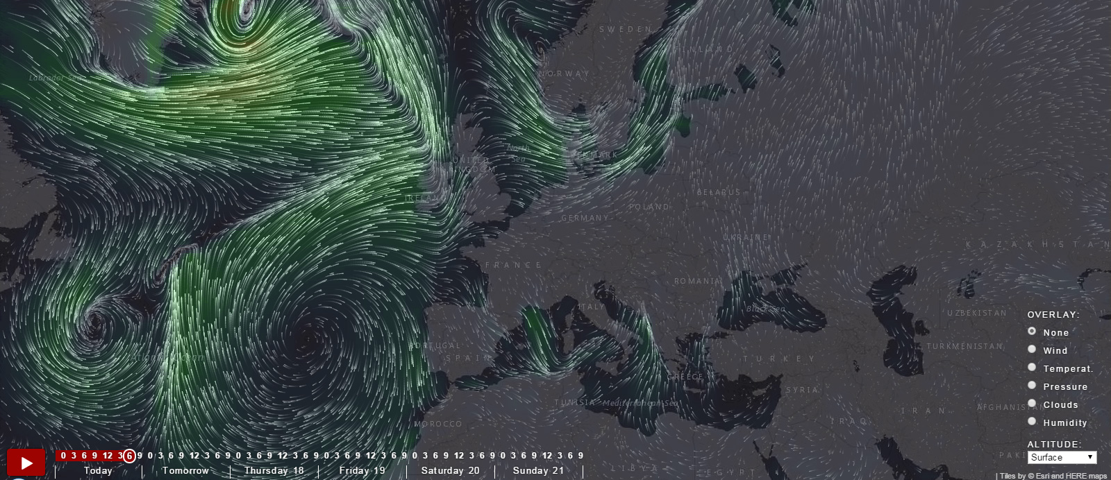 wind art in science Wind visualizations & forecast